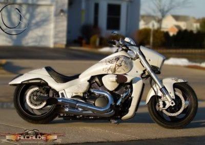 street-white-bike