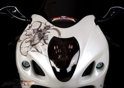 white-bike-front